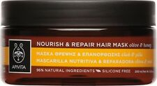 APIVITA NOURISH & REPAIR HAIR MASK FOR DRY DAMAGED HAIR with Olive & Honey 200ML