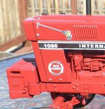 International IH Branding Irons and Red Power decals 1586 1486 1086 986 886