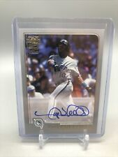2020 Topps Archives Gary Sheffield ON CARD AUTO /99 Marlins