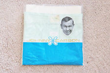 VINTAGE JOHNNY CARSON GREEN NYLON BOXER SHORTS - SIZE 36 - NEW