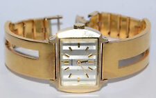 RARE VINTAGE SEIKO SILVER ANGEL LADIES MECHANICAL GOLD PLATED WATCH