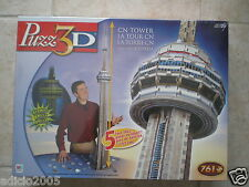 Wrebbit Puzz 3D puzzle CN TOWER,  NEW Factory Sealed Box