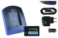Chargeur+Batterie (USB) DMW-BMB9E pour Panasonic Lumix DMC-FZ48, FZ60, FZ62