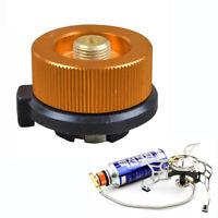 Flaschenadapter Gaskartusche Gasherd Konverter Brenner Adapter Regleradapter