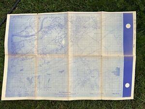VINTAGE 1966 UGI CORPORATION LUZERNE ELECTRIC DIVISION POWER MAP NANTICOKE