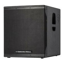 CERWIN VEGA CVE-18S 1000W POWERED SUBWOOFER DJ / BAND SOUND SYSTEM  3 YR WTY