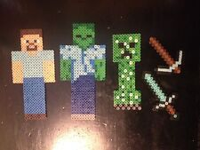 Minecraft Perler Bead Art!! 5 Pieces!!
