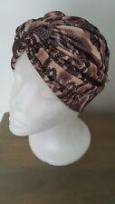 Turbante Sombrero Stretch hecho a mano. pérdida de cabello. Bad Hair Day. primavera Verano Sombrero