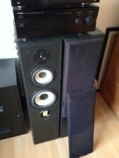 MISSION704aSPEAKERS(SUBWOFFERS) & YAHMAHA AMP AMPILFIER & CD player HIFI SYSTEM