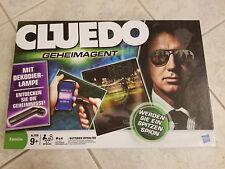 HASBRO Parker CLUEDO Geheimagent NEU mit Dekodierlampe