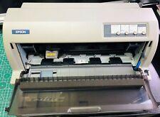 Epson LQ-690 24-pin flat bed dot matrix printer