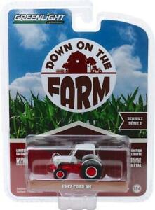 Greenlight 1:64 1947 Ford 8N Tractor with Canopy Down on the Farm S3 48030-A