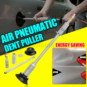 Air Pneumatic Dent Puller Suction Cup Slide Hammer Kit For Car Auto Body  U