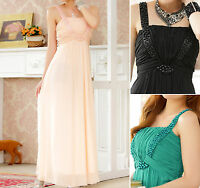 Womens Ladies Wedding Party Evening Cocktail Formal Dress Size 12 14 16 18 #1069