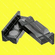 Magnetic Aluminium Vise Jaw Insert Pad For AN Hose End Fitting Adapter - Black
