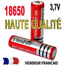 18650 3.7V Rechargeable Batterie 4000mAh  ultrafire LED 18650 MOD