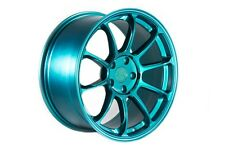 18X9 +30 AodHan AH06 5X100 Teal Wheels Fit TOYOTA COROLLA CELICA PIRUS STANCE