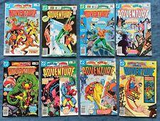 ADVENTURE COMICS LOT 2 - Bronze - Aquaman - Starman - Plastic Man - 8 books