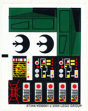LEGO 7754 - STAR WARS - Home One Mon Calamari Star Cruiser - STICKER SHEET