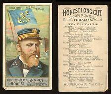 "1887 N127 Duke Sea Captains ""Julius Barre"" POOR **AA-7768**"