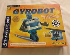 thame & kosmos gyrobot Experiment kit build 7 gyrodcopic machines
