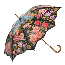 Clifton Artbrella Full Length Timber Rose Garden Umbrella