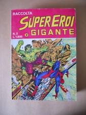Raccolta SUPEREROI GIGANTE n°3 1984 Edizioni Corno [G490]