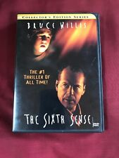 The Sixth Sense (Dvd, 2000, Collectors Series) Free U.S Shipping
