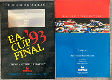 More details for arsenal v sheffield wednesday 1993 fa cup final & replay