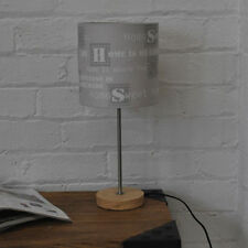 Wooden Vintage/Retro 41cm-60cm Height Lamps