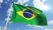 New Polyester BRAZILIAN National Flag Brass Eyelets 90cms X 150cms Christmas