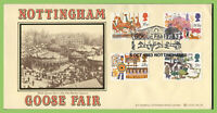 G.B. 1983 British Fairs set on Bradbury First Day Cover, Goose Fair, Nottingham