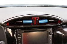 Carbon Fiber Air Vent front center Cover for 13-16 Subaru BRZ, Scion FRS FT86