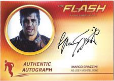 Flash Season 2 Auto Autograph Card Marco Grazzini Joey Monteleone MG1