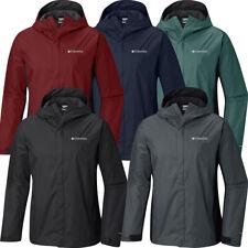 "New Mens Columbia ""Watertight"" Omni-Tech Waterproof Rain Wind Jacket"