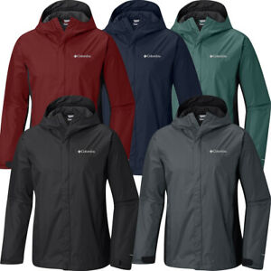 "New Mens Columbia ""Watertight"" Omni-Tech Waterproof Rain Wind Jacket"