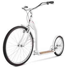 "Schwinn Adult Shuffle Scooter with 26"" Wheels White 16""/Small Kick Bike Fitness"