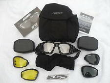 British Military Issue ESS Advanced Goggles System With 3 Lenses
