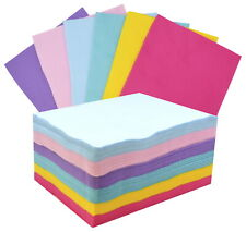 Cpe Acrylic Felt Assortment, 9 x 12 Inches, Assorted Pastel Colors, Set of 100