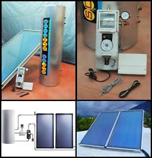 300 Lt Solar Thermal Panel Hot Water Heater Heating System Kit Inc Pump Station