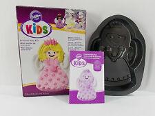 """Wilton Kids Princess Mini Cake Pan #2105-0350 Size 7.3"""" x 10"""""""