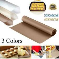 Reusable Cooking Liner Sheet Non Stick Baking Paper Mat BBQ Oven Mat Oilpaper US