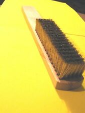 6 Row Soft Brass Brush for Burnishing Metal Clay-Silver Clay-Art Clay-Bronze