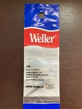 Genuine Weller Ets Long Conical Tip 001x 04mm