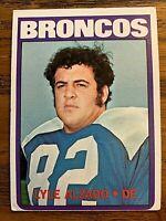 1972 Topps #106 Lyle Alzado RC - Broncos