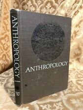 1969 Anthropology Text Book Zdenek Salzmann Antique Education Textbook