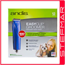 Andis Dog Clippers EasyClip MBG2 Groom Includes 6 Guide Combs AU240v #10 Blade