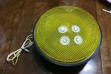 """12"""" DIALIGHT #433-3230-901XL15 Yellow 120 VOLT AC 60 HZ TRAFFIC LIGHT  13 watts"""