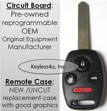 G8D-380H-A  uncut key remote transmitter clicker transmitter entry keyfob fob