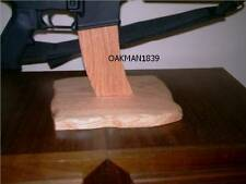 AR15 Rifle Display / Work Stand SOLID Oak